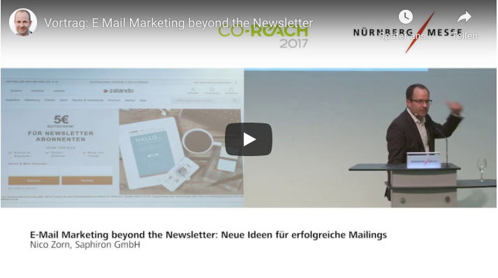Vortrag E-Mail-Marketing beyond the Newsletter